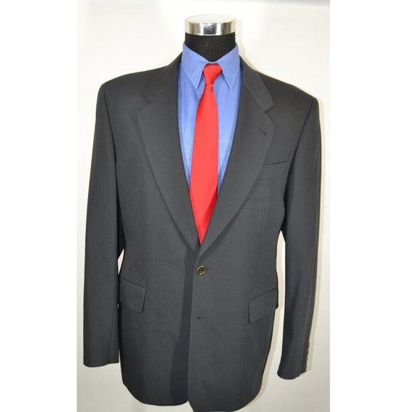 Hugo Boss Other - Hugo Boss 40R Sport Coat Blazer Suit Jacket Dark G